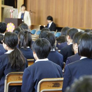 文京区国立小学校入学式