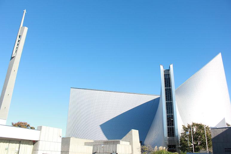 東京カテドラル聖マリア大聖堂正面