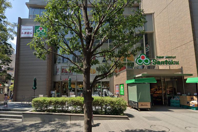 三徳 茗荷谷駅前店入り口