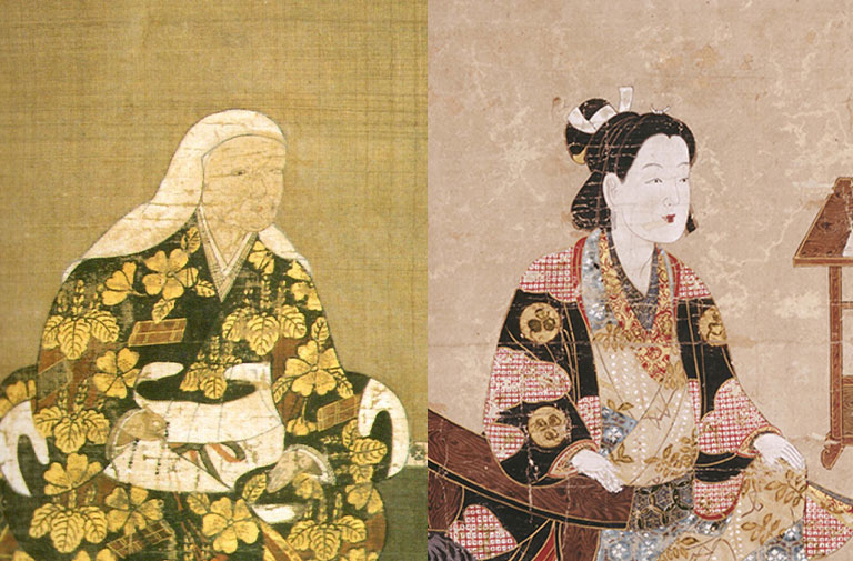 左:於大の方 右:千姫